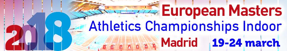 EMACI 2018 Campeonato de Europa Master 1500 PC M40
