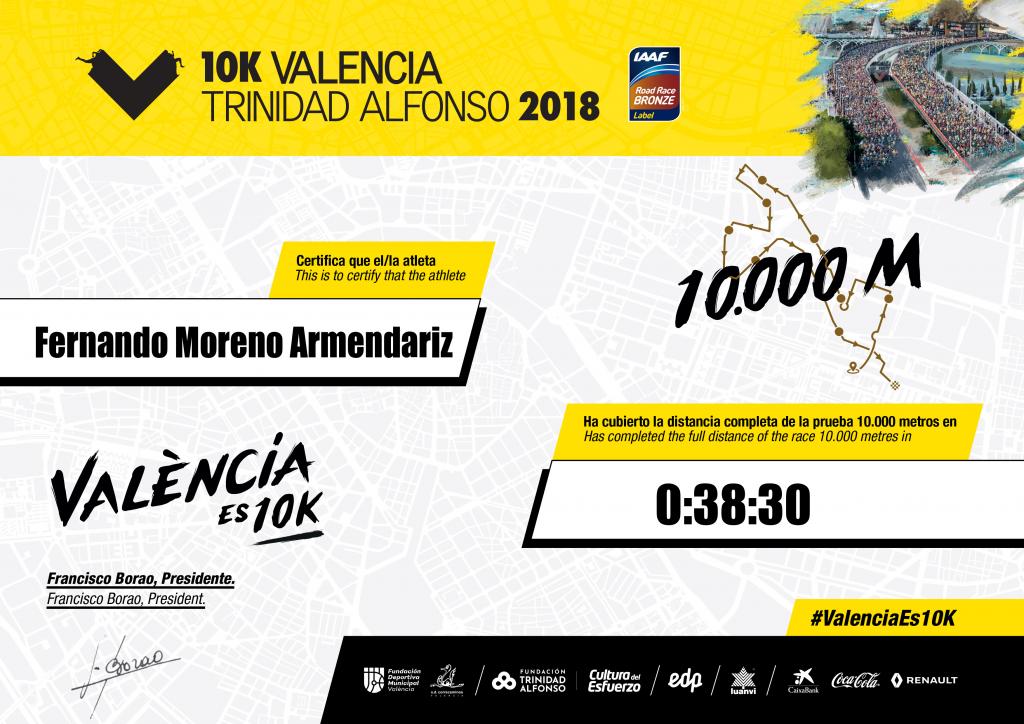 10k Valencia MMP con regusto
